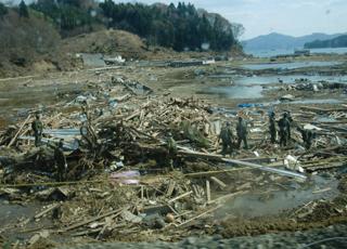 東日本大震災救援の様子(その2)