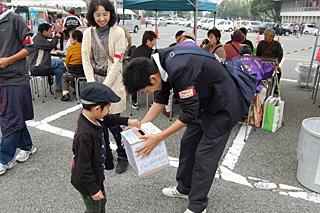 募金活動の写真1