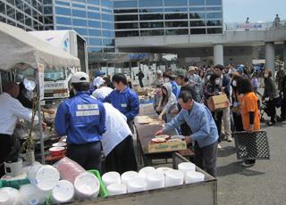 東日本大震災救援の様子(その1)