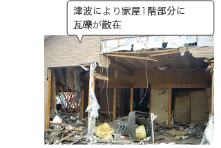 東日本大震災支援の様子の写真03