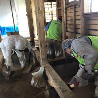 岡山県倉敷市豪雨災害支援ボランティアの様子04